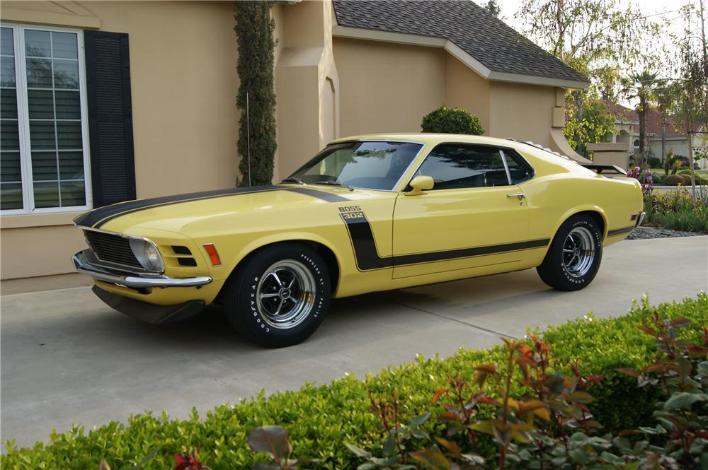 1970 FORD MUSTANG BOSS 302 FASTBACK - Front 3/4 - 130237