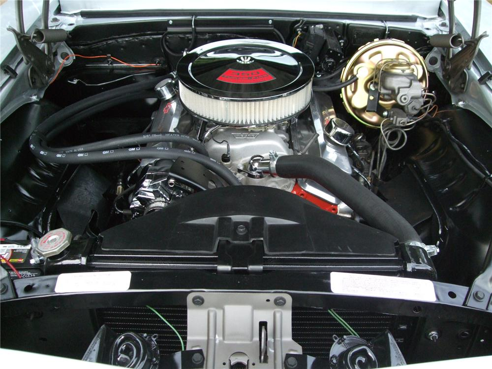 1969 CHEVROLET CAMARO CUSTOM CONVERTIBLE - Engine - 130242