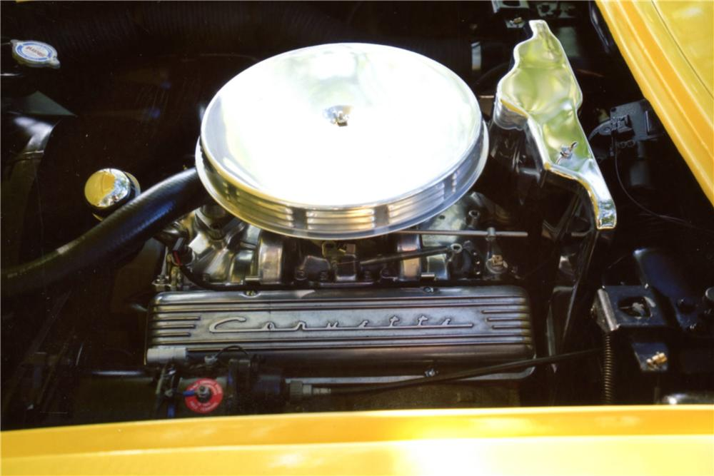1958 CHEVROLET CORVETTE CUSTOM CONVERTIBLE - Engine - 130253