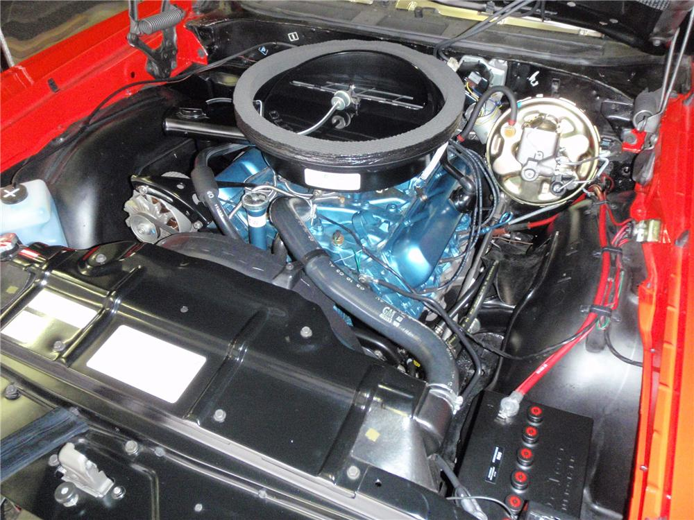 1970 OLDSMOBILE 442 CONVERTIBLE - Engine - 130255