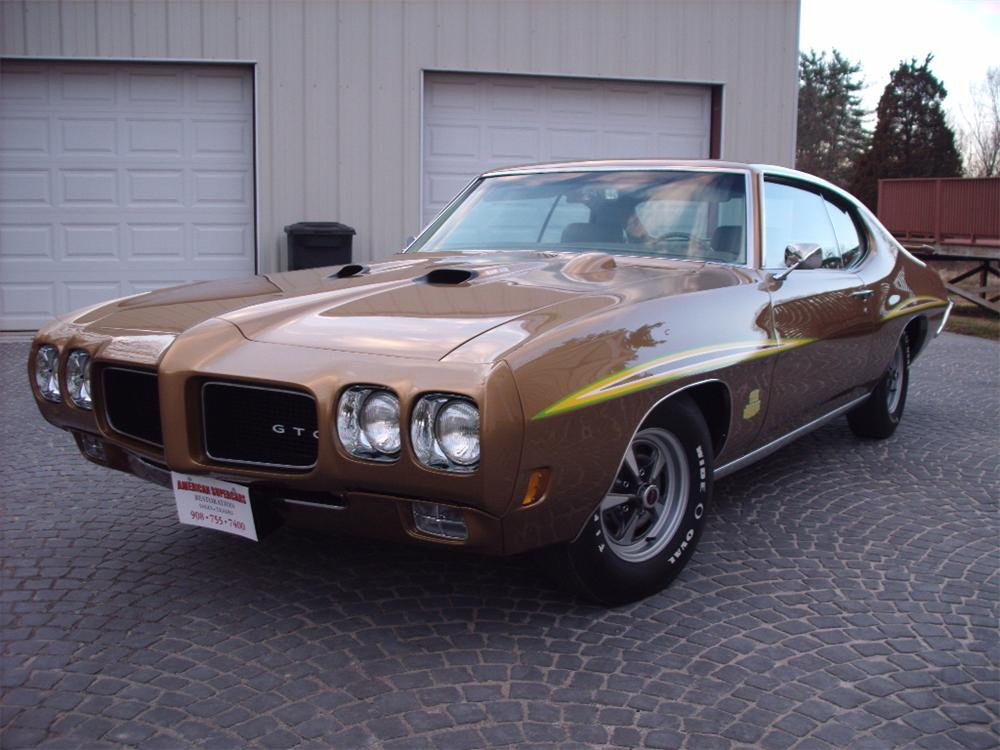 1970 PONTIAC GTO JUDGE 2 DOOR COUPE - Front 3/4 - 130261