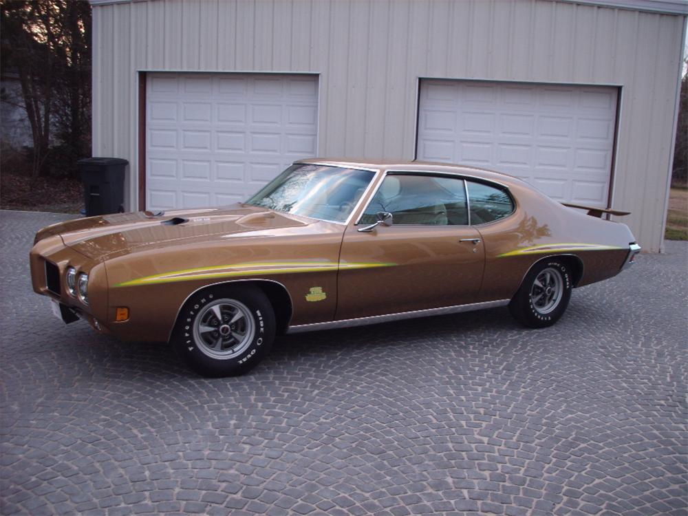 1970 PONTIAC GTO JUDGE 2 DOOR COUPE - Side Profile - 130261