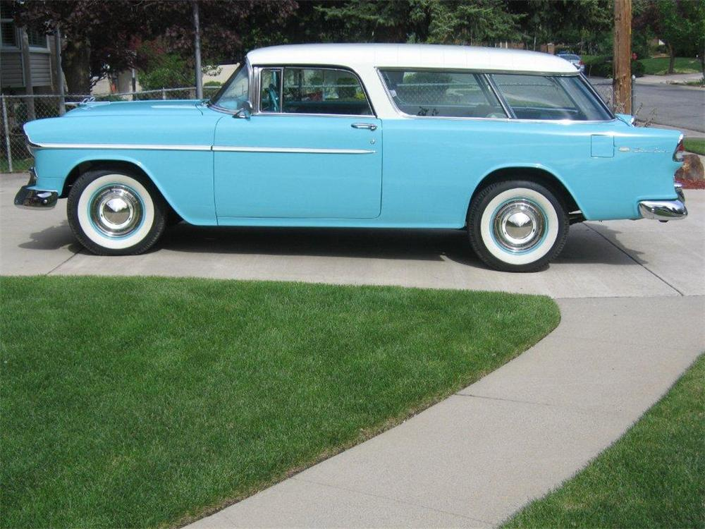 1955 CHEVROLET NOMAD STATION WAGON - Side Profile - 130263