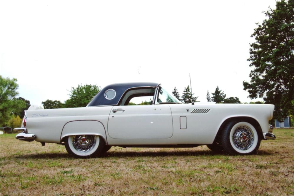1956 FORD THUNDERBIRD CONVERTIBLE - Front 3/4 - 130264