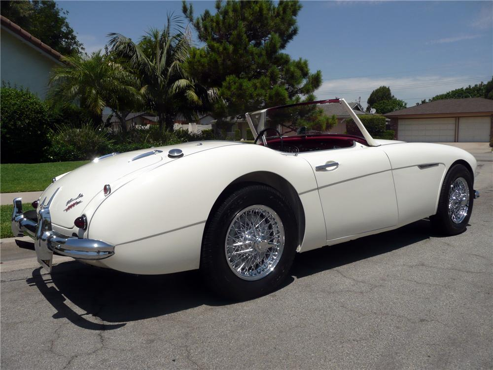 1960 AUSTIN-HEALEY 3000 MARK I BN7 ROADSTER - Rear 3/4 - 130265