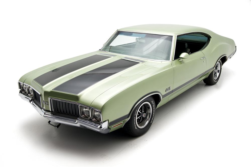 1970 OLDSMOBILE 442 2 DOOR COUPE - Front 3/4 - 130272