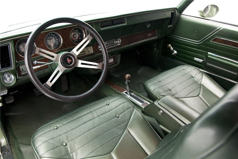 1970 OLDSMOBILE 442 2 DOOR COUPE - Interior - 130272