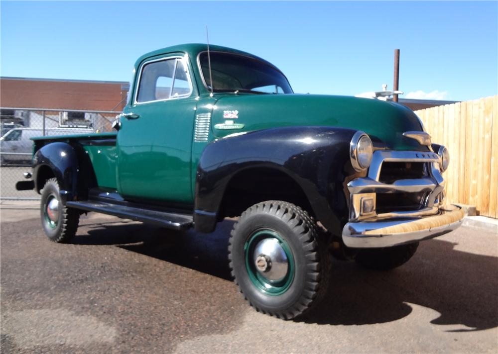 Image gallery 55 pickup 4x4 for 1955 gmc 5 window pickup for sale