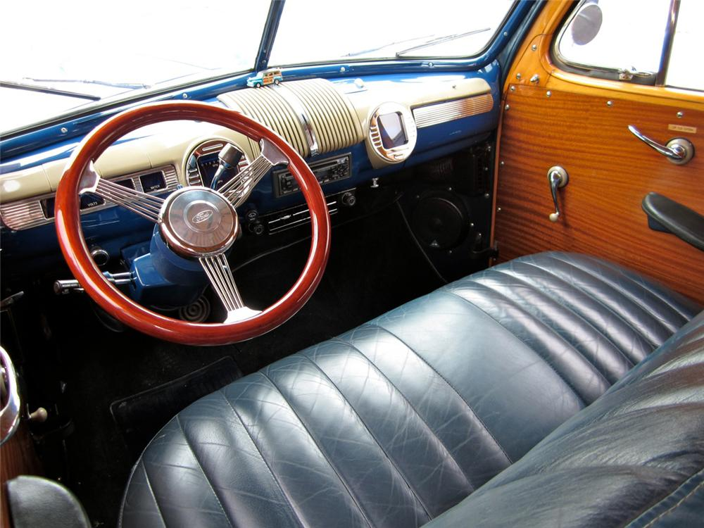 1948 FORD CUSTOM WOODY WAGON - Interior - 130278