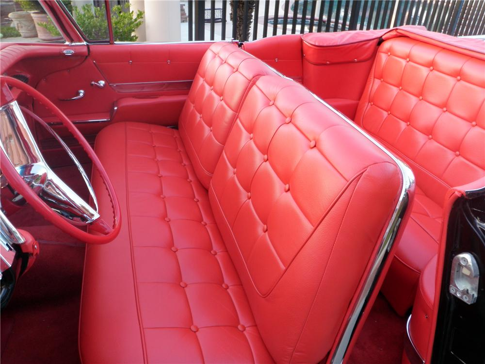 1958 BUICK LIMITED SERIES CONVERTIBLE - Interior - 130282