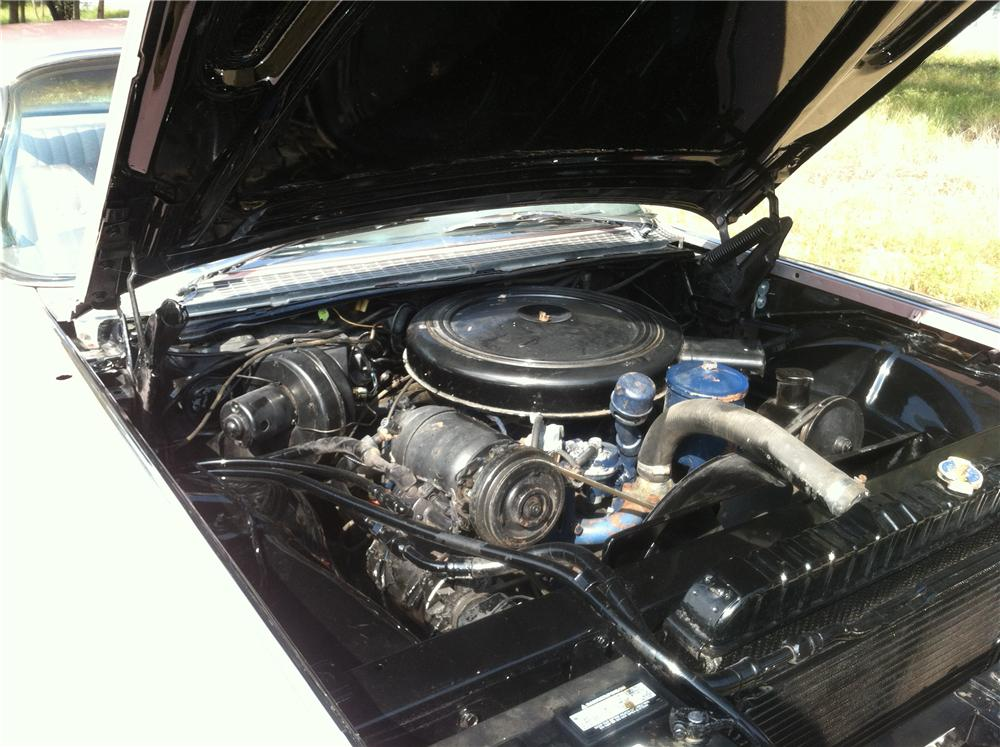 1959 CADILLAC COUPE DE VILLE 2 DOOR COUPE - Engine - 130286