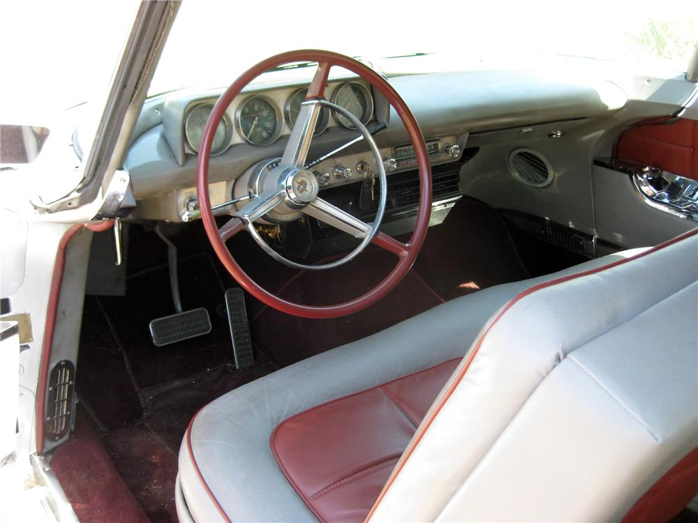 1956 LINCOLN CONTINENTAL MARK II 2 DOOR COUPE - Interior - 130288