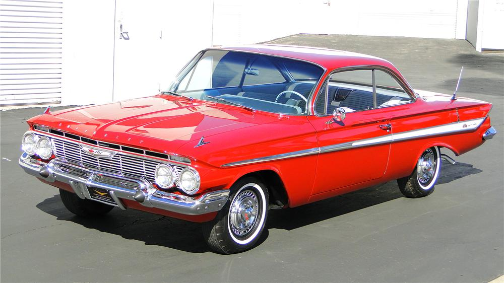 1961 CHEVROLET IMPALA SS BUBBLE TOP - Front 3/4 - 130300
