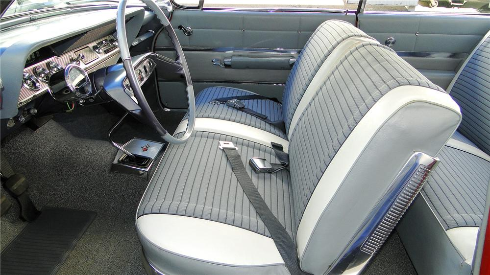 1961 CHEVROLET IMPALA SS BUBBLE TOP - Interior - 130300
