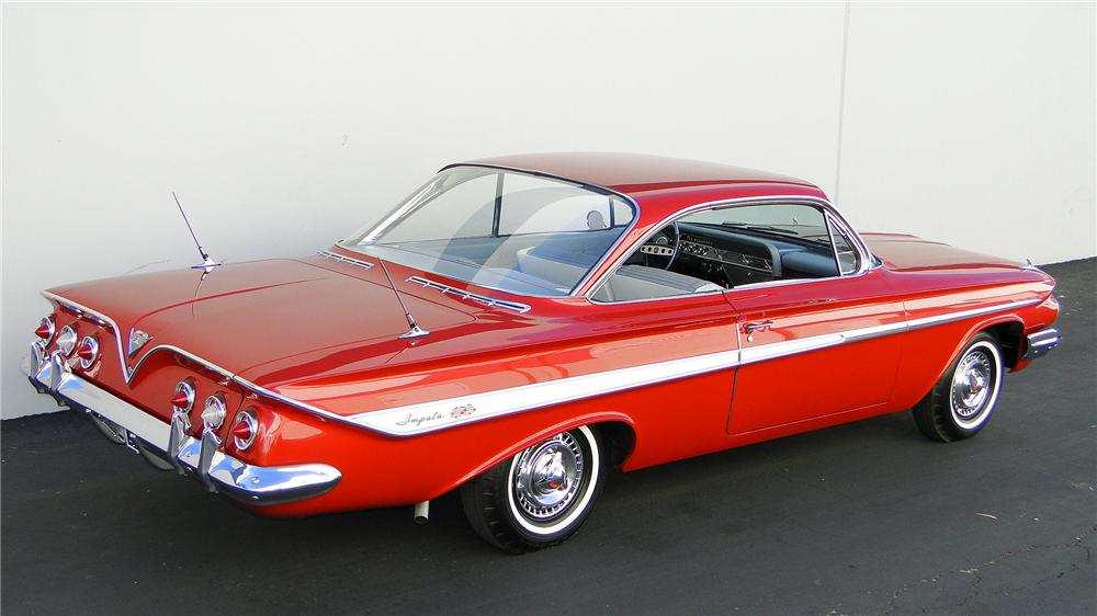 1961 CHEVROLET IMPALA SS BUBBLE TOP - Rear 3/4 - 130300