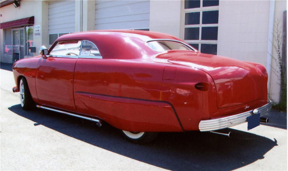 1951 FORD CUSTOM 2 DOOR COUPE - Rear 3/4 - 130302