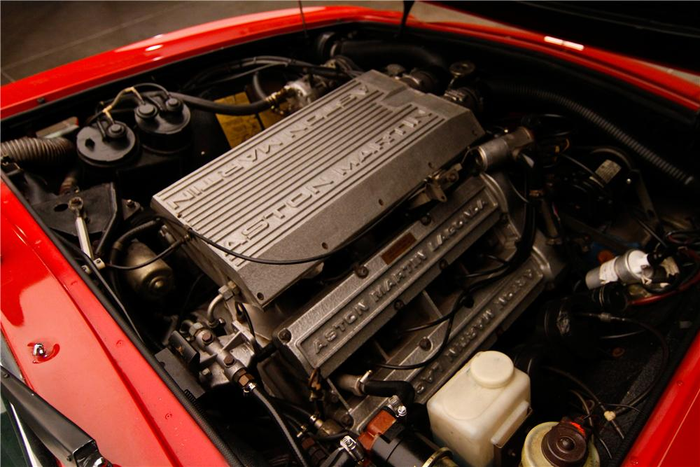 1982 ASTON MARTIN VOLANTE CONVERTIBLE - Engine - 130304