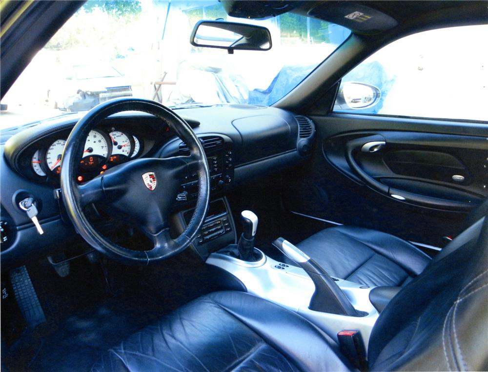 2001 PORSCHE 996 CUSTOM 2 DOOR COUPE - Interior - 130312