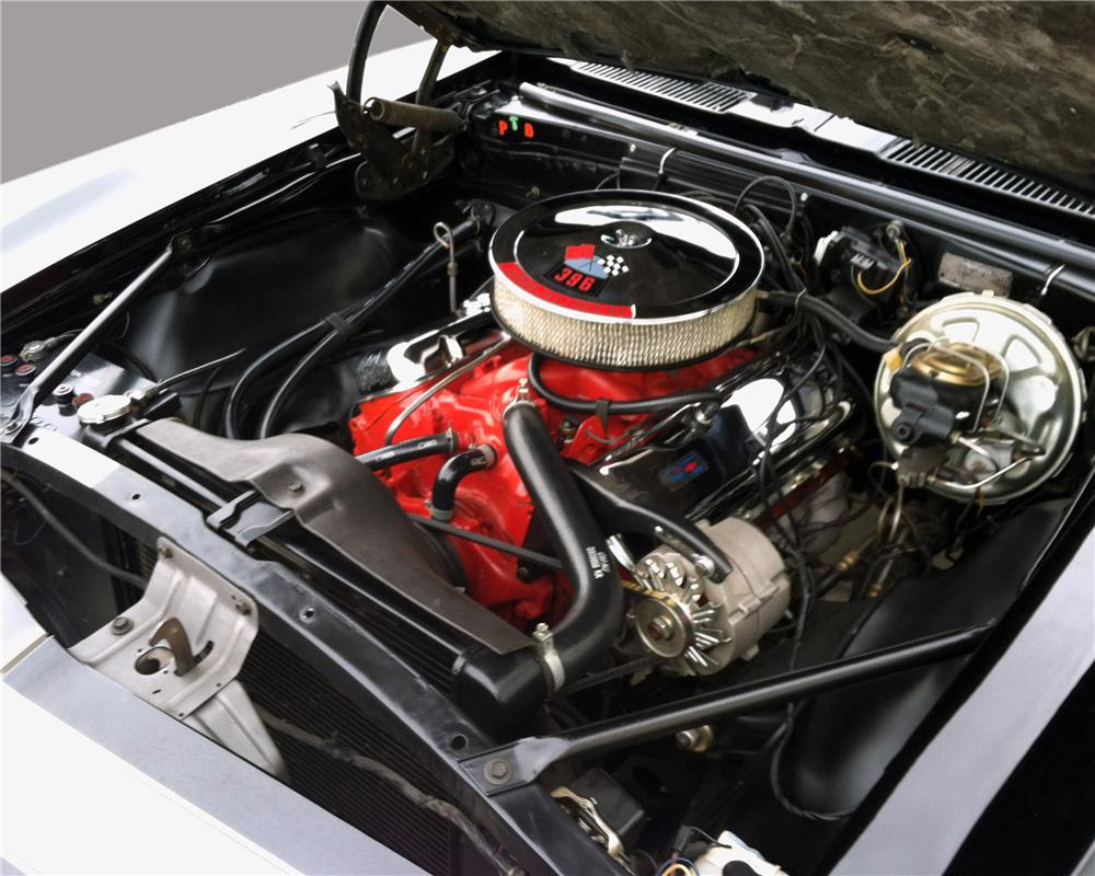 1967 CHEVROLET CAMARO 2 DOOR COUPE - Engine - 130318