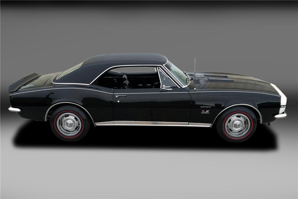 1967 CHEVROLET CAMARO 2 DOOR COUPE - Side Profile - 130318