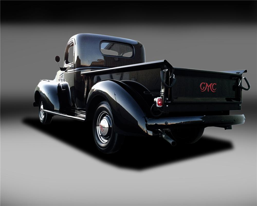 1946 GMC 1/2 TON PICKUP - Rear 3/4 - 130321