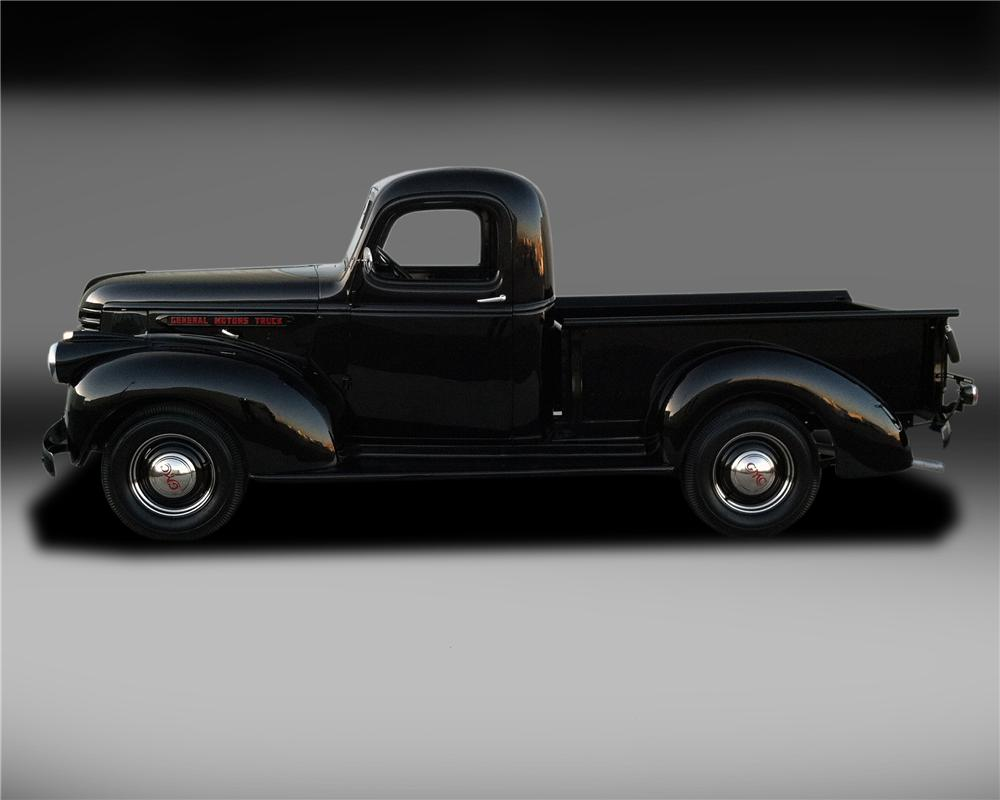 1946 GMC 1/2 TON PICKUP - Side Profile - 130321