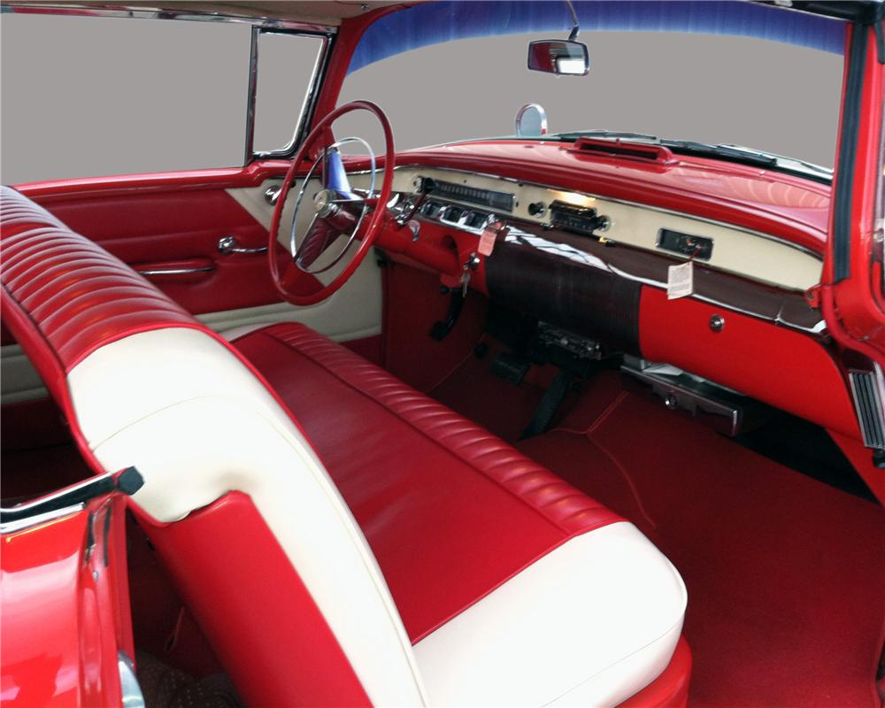 1956 BUICK SPECIAL 2 DOOR COUPE - Interior - 130322