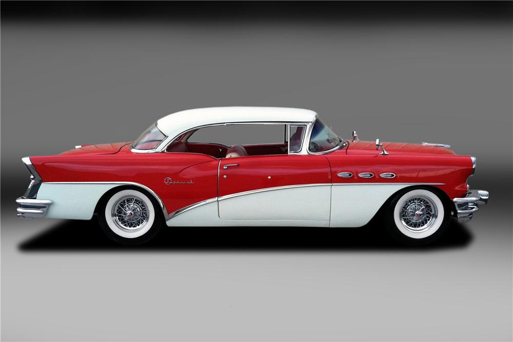 1956 BUICK SPECIAL 2 DOOR COUPE - Side Profile - 130322