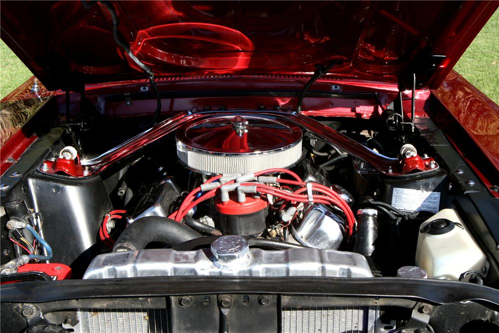 1967 FORD MUSTANG GT CUSTOM FASTBACK - Engine - 130327