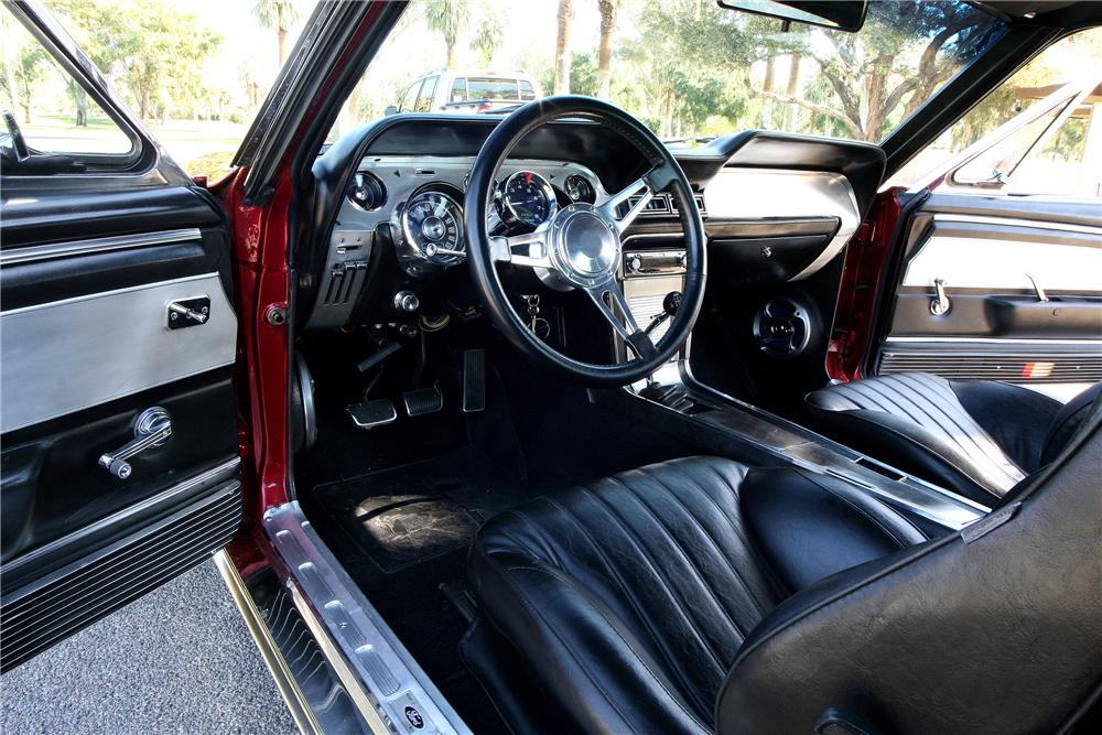 1967 ford mustang gt custom fastback 130327. Black Bedroom Furniture Sets. Home Design Ideas