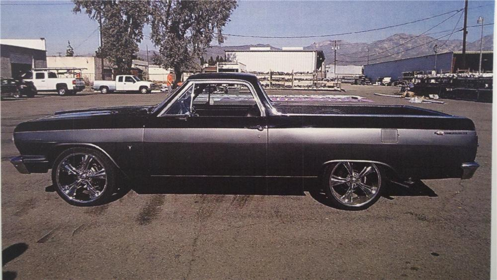 1964 CHEVROLET EL CAMINO CUSTOM PICKUP - Side Profile - 130330