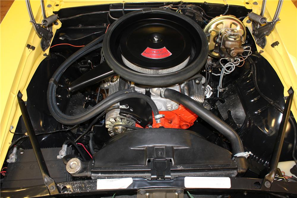 1969 CHEVROLET CAMARO 2 DOOR COUPE - Engine - 130332