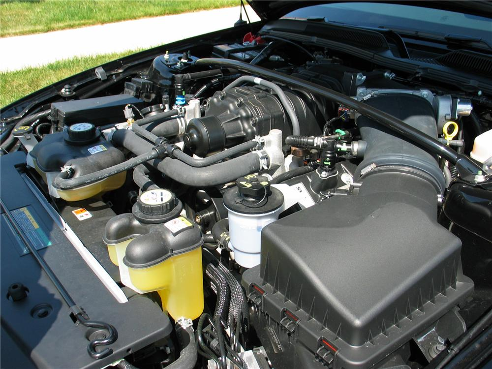 2008 FORD MUSTANG SHELBY GT500 2 DOOR COUPE - Engine - 130340