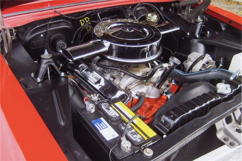 1966 CHEVROLET NOVA 2 DOOR HARDTOP - Engine - 130350
