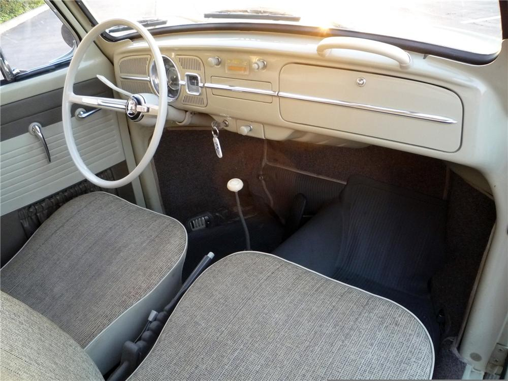 ... 1965 VOLKSWAGEN BEETLE 2 DOOR SEDAN - Interior - 130355 ... & 1965 VOLKSWAGEN BEETLE 2 DOOR SEDAN130355