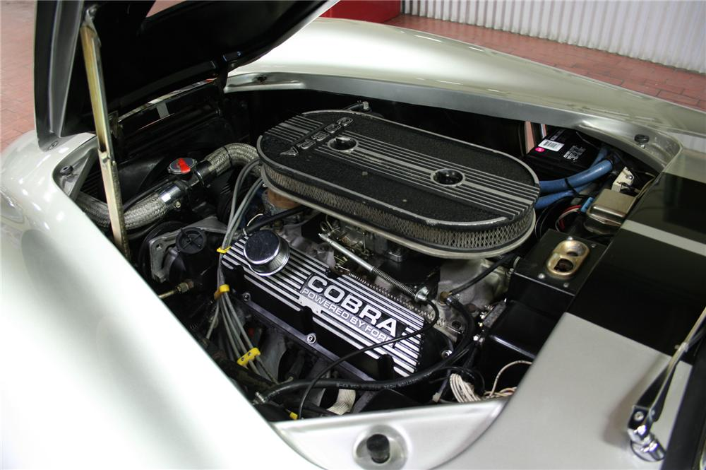 1965 SHELBY COBRA RE-CREATION ROADSTER - Engine - 130363
