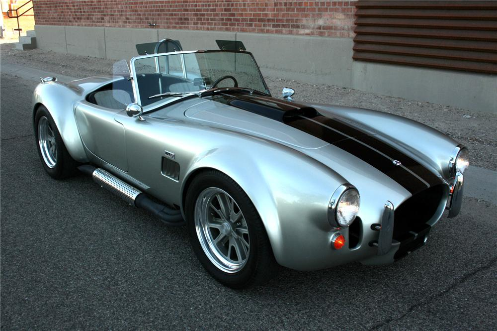 1965 SHELBY COBRA RE-CREATION ROADSTER - Front 3/4 - 130363