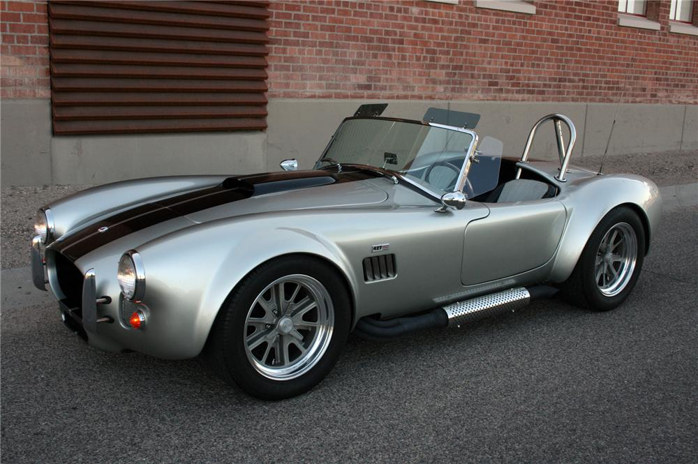 1965 SHELBY COBRA RE-CREATION ROADSTER - Side Profile - 130363
