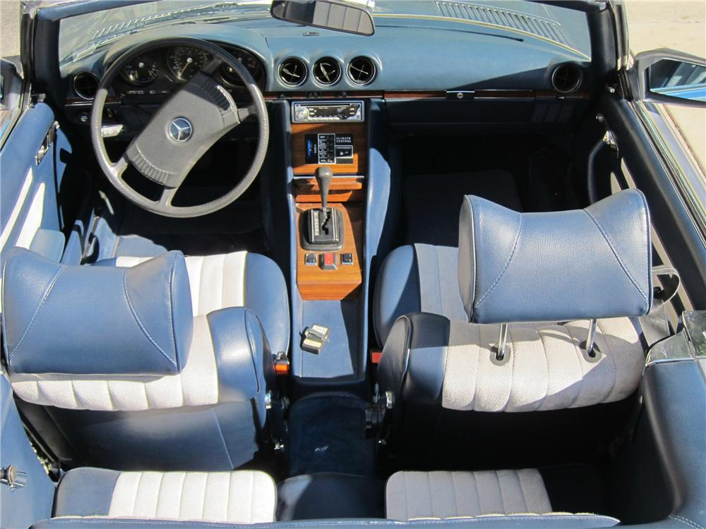 1978 MERCEDES-BENZ 450SL CONVERTIBLE - Interior - 130372