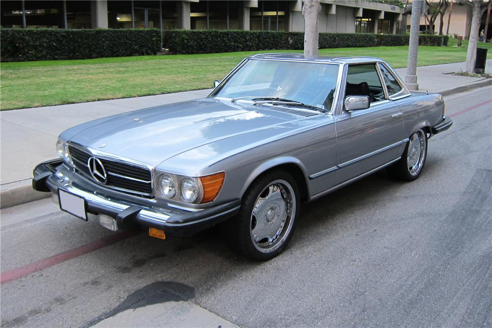 1978 MERCEDES-BENZ 450SL CONVERTIBLE - Side Profile - 130372