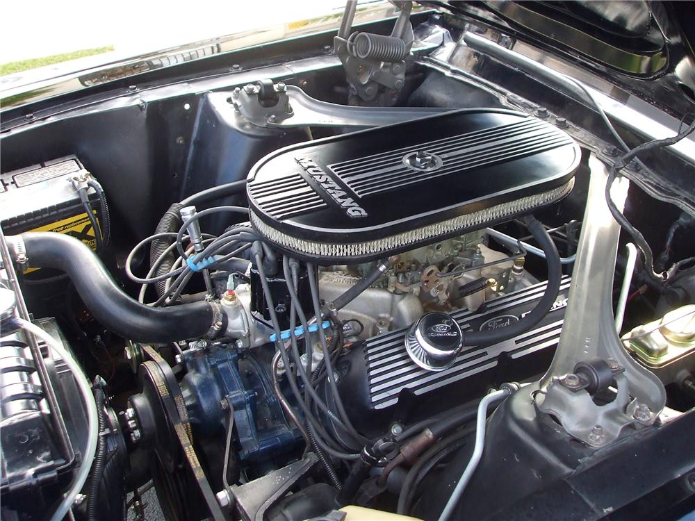 1968 FORD MUSTANG CUSTOM 2 DOOR COUPE - Engine - 130380