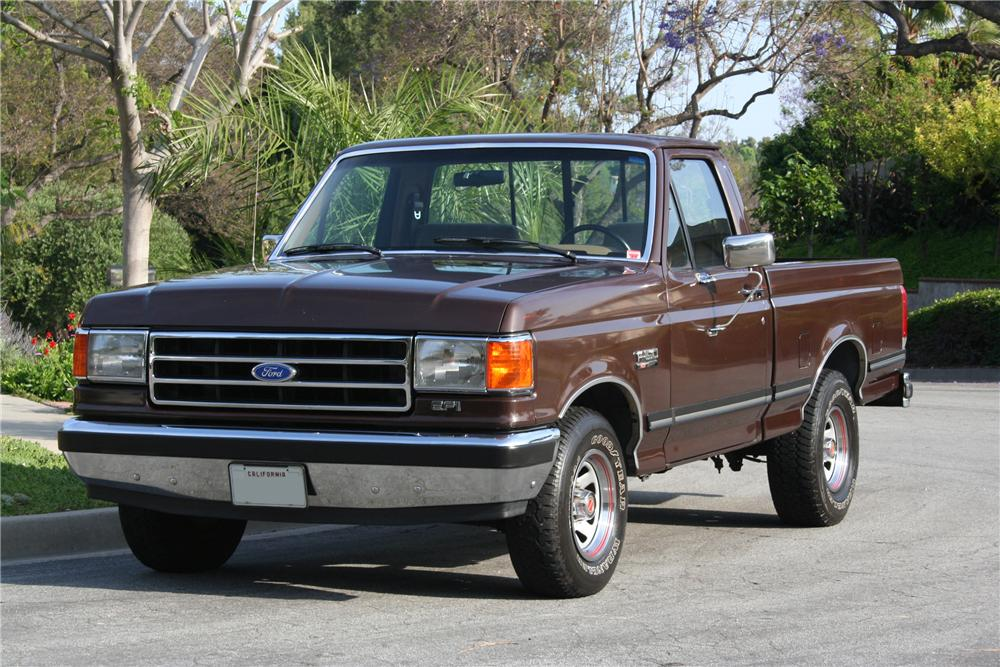 1989 FORD F-150 PICKUP - Front 3/4 - 130386