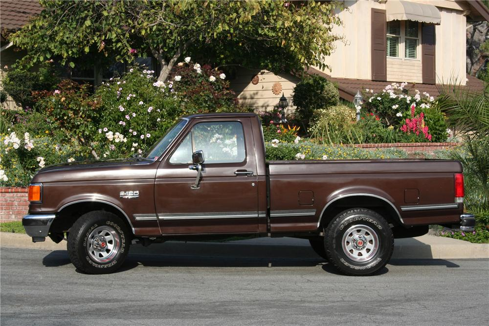 1989 FORD F-150 PICKUP - Side Profile - 130386