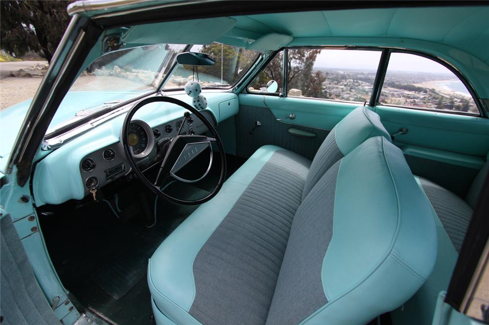 1951 FORD VICTORIA 2 DOOR HARDTOP - Interior - 130387