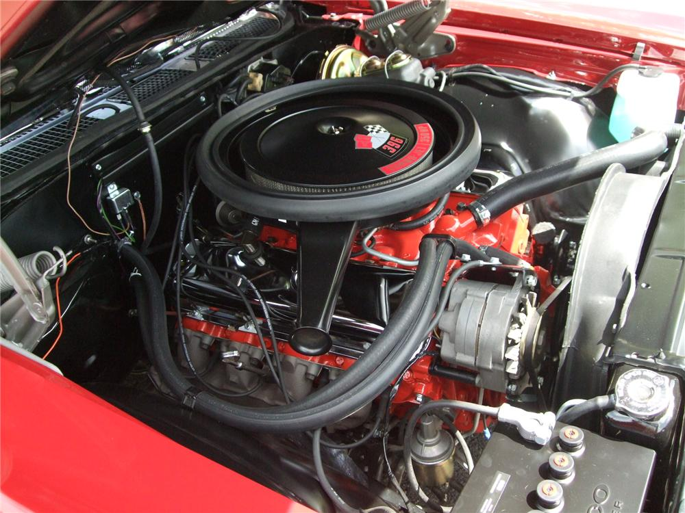 1970 CHEVROLET CHEVELLE SS 396 CONVERTIBLE - Engine - 130390