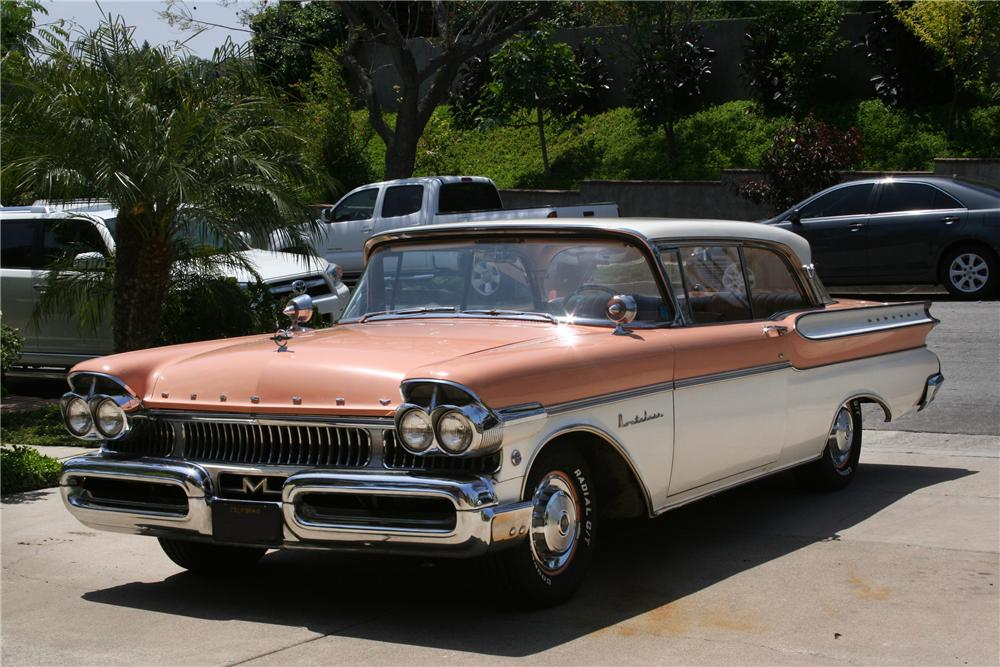 1957 MERCURY MONTCLAIR 2 DOOR HARDTOP