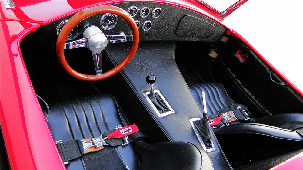 1967 FORD COBRA ROADSTER RE-CREATION - Interior - 130398