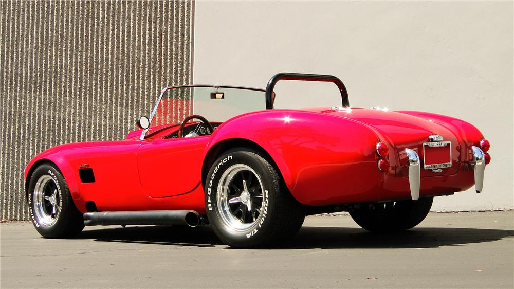 1967 FORD COBRA ROADSTER RE-CREATION - Rear 3/4 - 130398