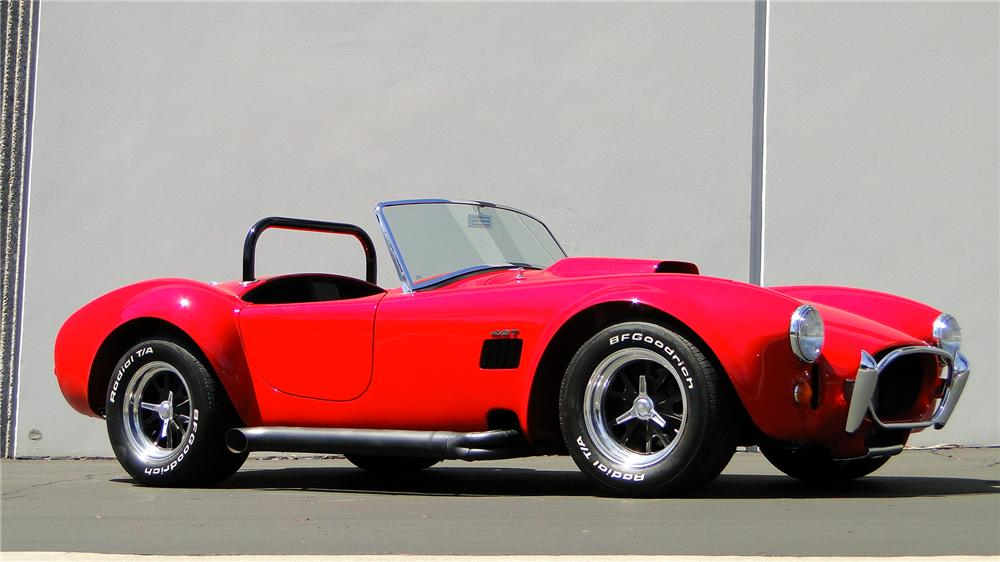 1967 FORD COBRA ROADSTER RE-CREATION - Side Profile - 130398