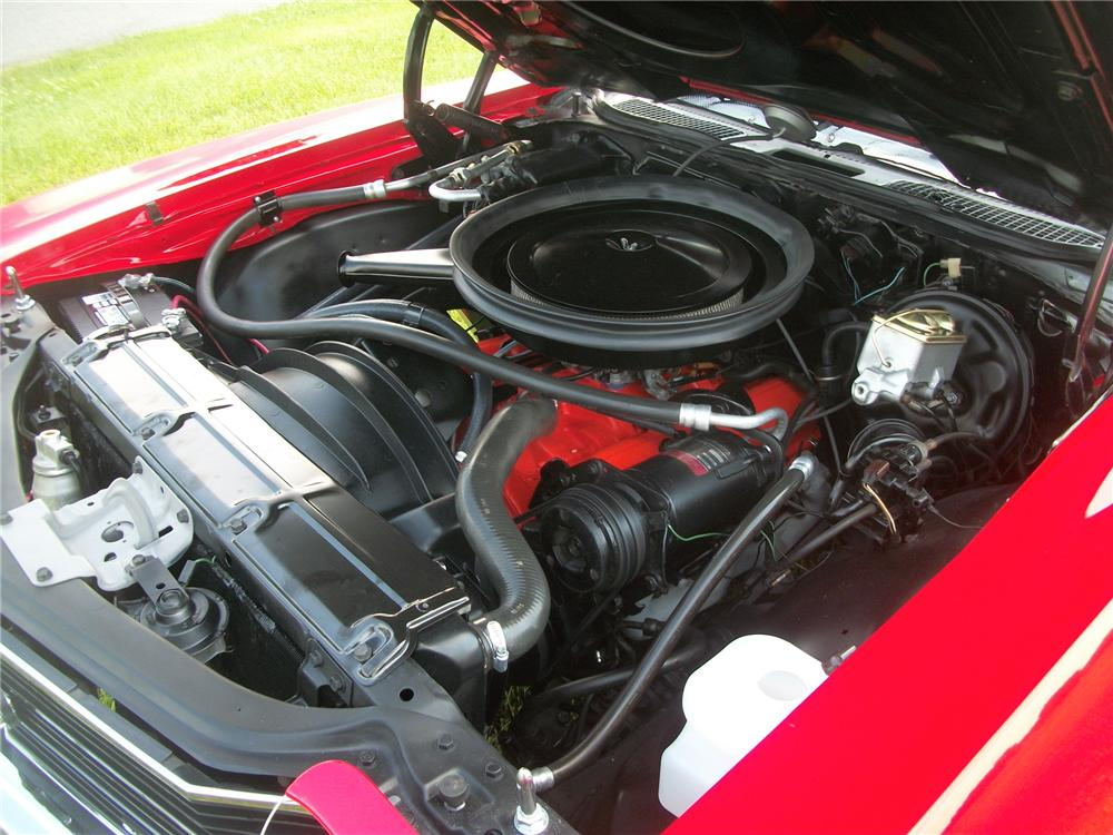 1972 CHEVROLET CHEVELLE CONVERTIBLE - Engine - 130403